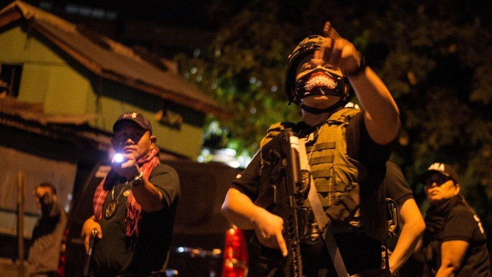 Satuan anti-narkoba Filipina