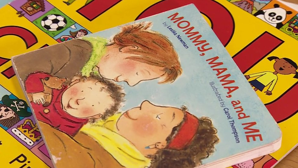 'Mommy, Mama and Me' a book used by No Outsiders