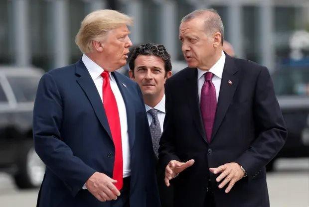 ABD Başkanı Donald Trump ve Cumhurbaşakanı Recep Tayyip Erdoğan