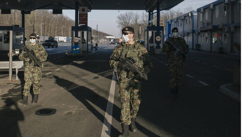 Vojska na granici