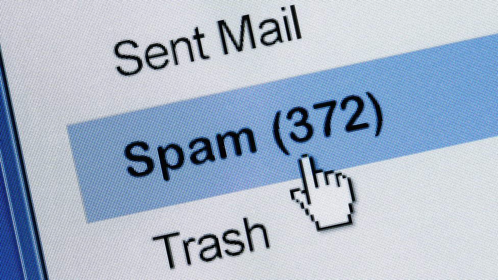 Junk email messages