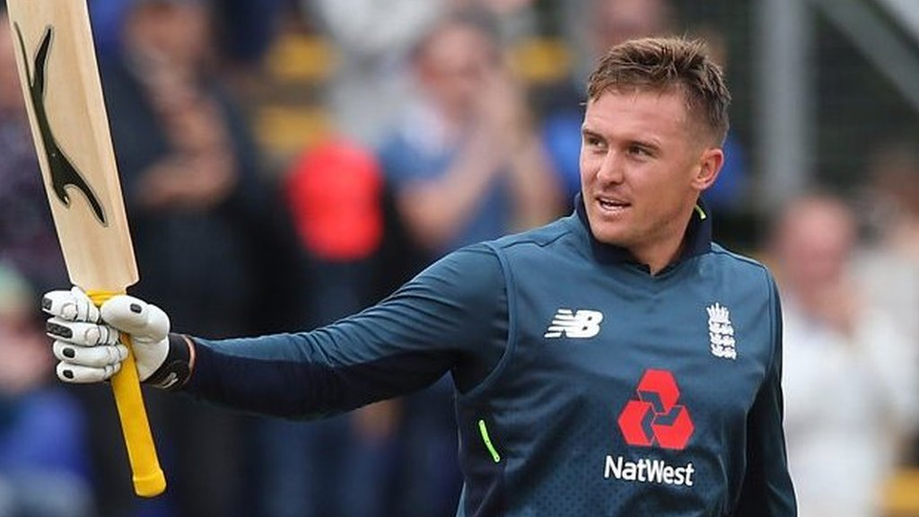 England v Australia ODI: Jason Roy's 120 helps England to second one-day series win