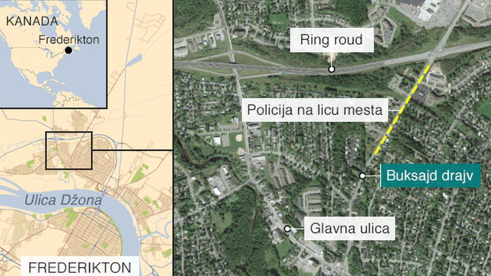 Pucnjava se dogodila u Buksajd drajvu