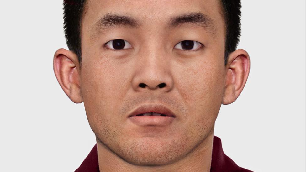 Reconstrucción del rostro de Gedhun Choekyi Nyima hoy en día
