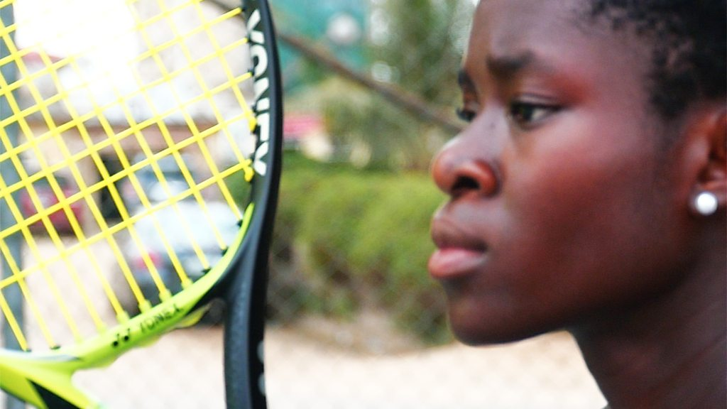 Marylove Edwards: The 13-year-old 'Nigerian Serena'