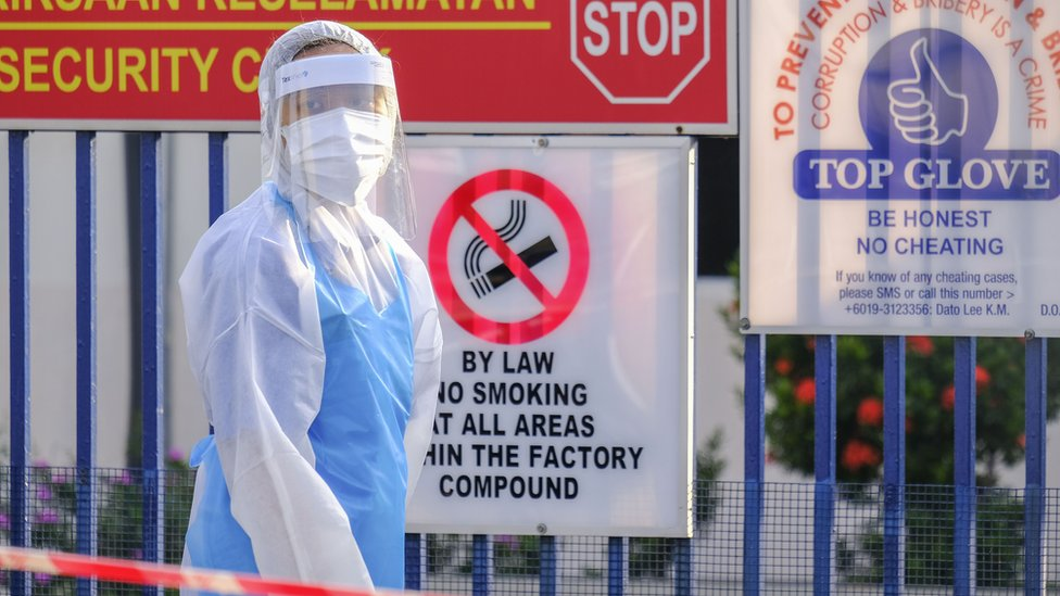 World's top surgical glove maker shuts factories due to coronavirus