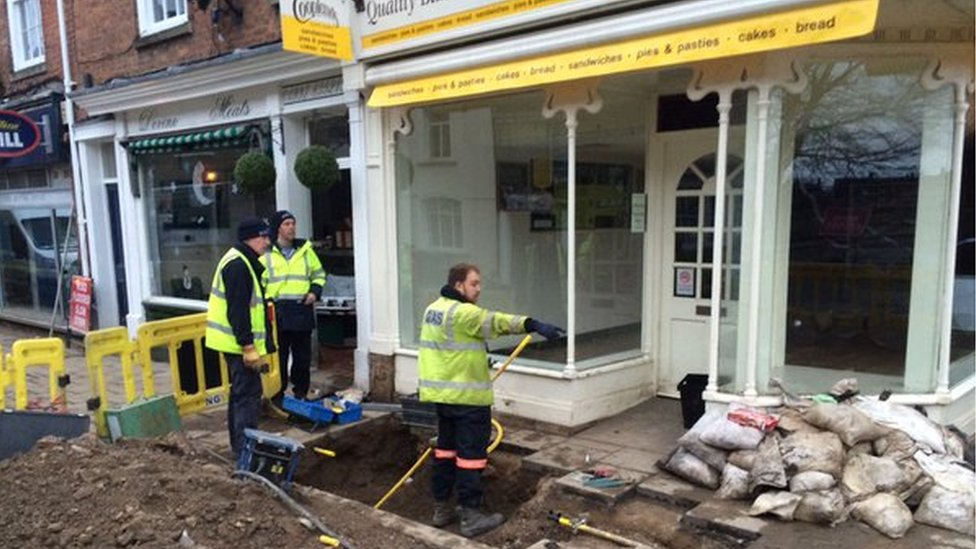 Northern Gas check flooded properties in Tadcaster