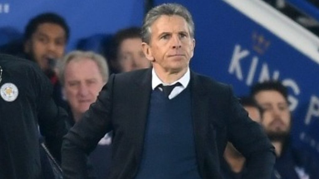 Leicester 1-4 Crystal Palace: Defeat difficult to accept - Claude Puel