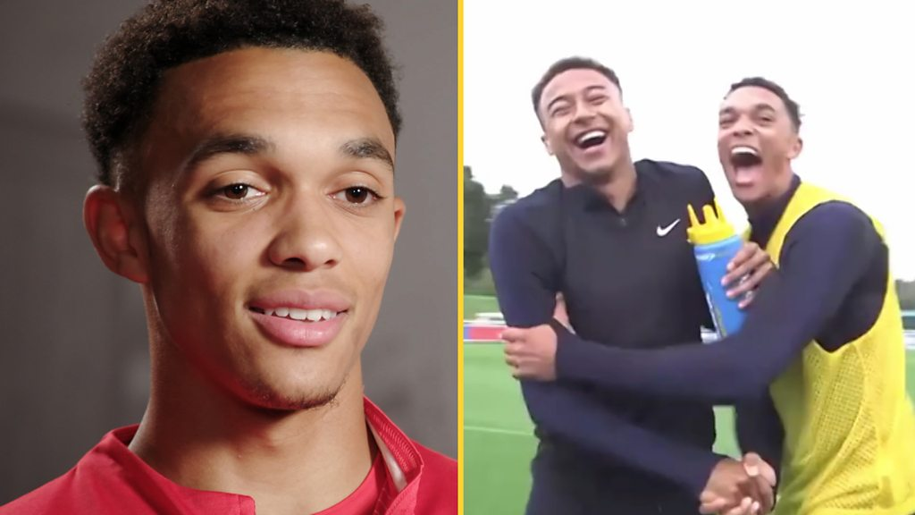 Watch: Alexander-Arnold on friend & 'bitter rival' Lingard