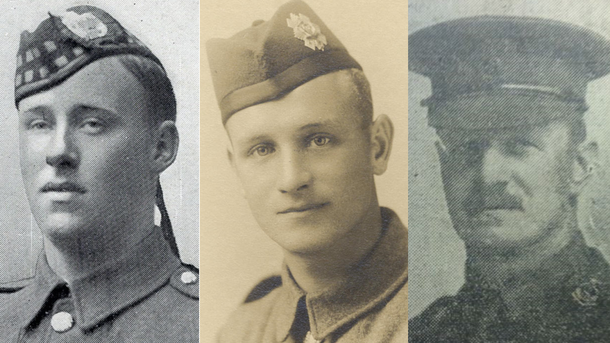 WW1 names added to Glasgow University memorial