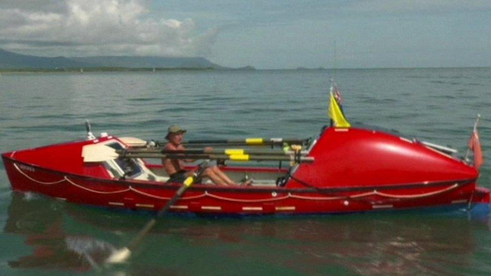 John Beeden approaches Cairns