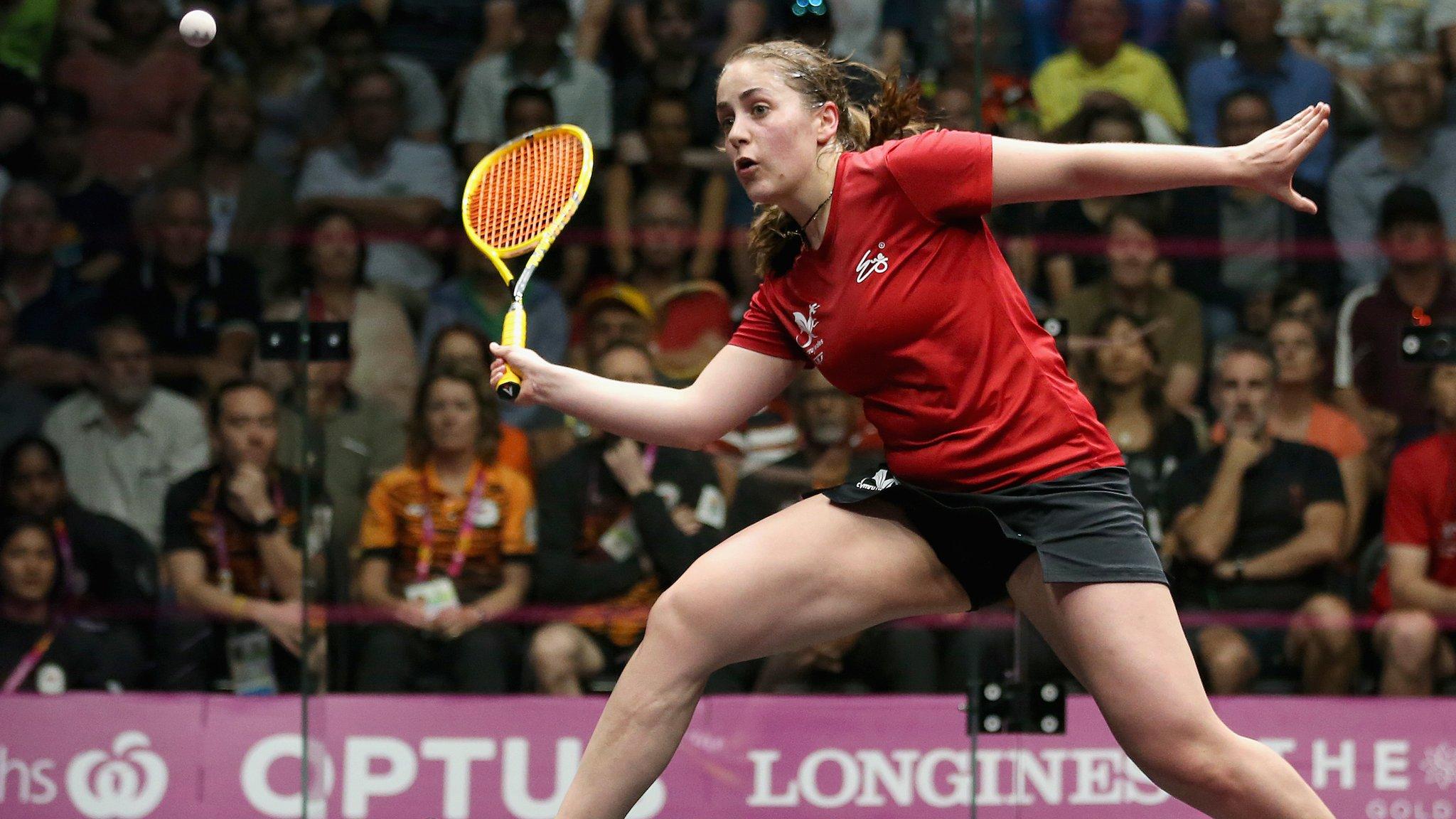 Evans retains British squash title