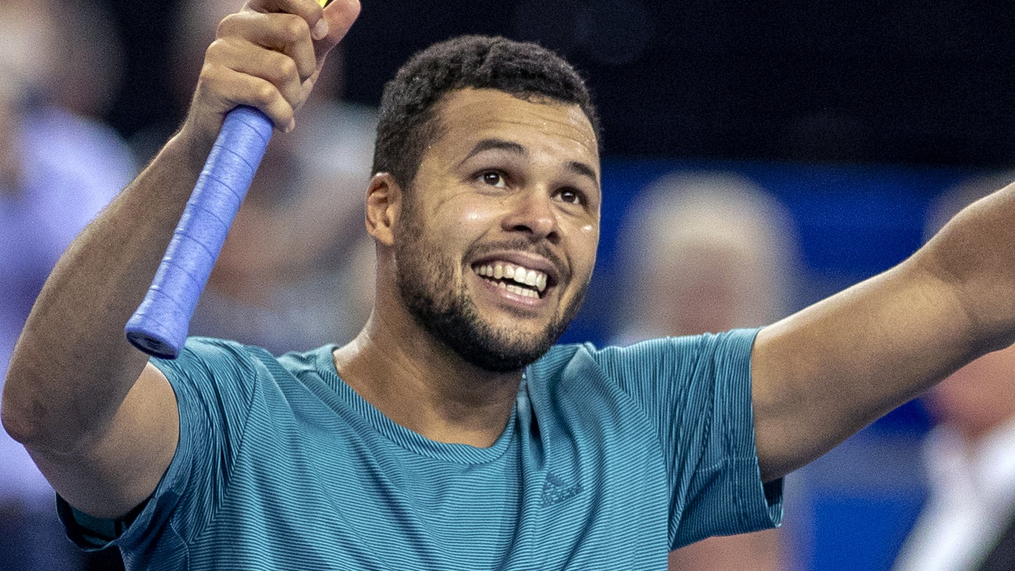Jo-Wilfried Tsonga beats Pierre-Hugues Herbert to win first title since 2017