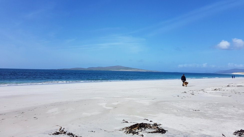 Berneray in the Outer Hebrides