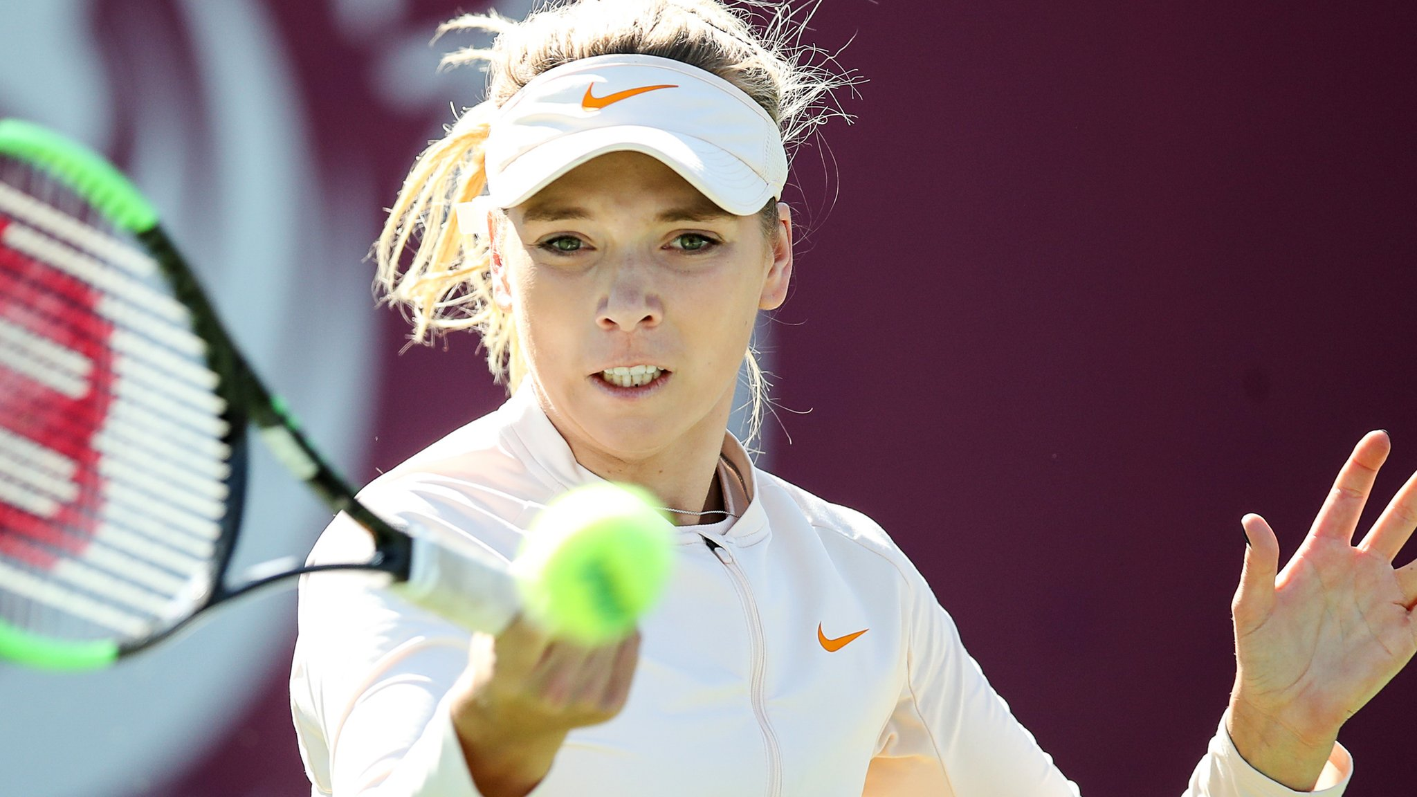 Katie Boulter into top 100 of WTA world rankings for first time