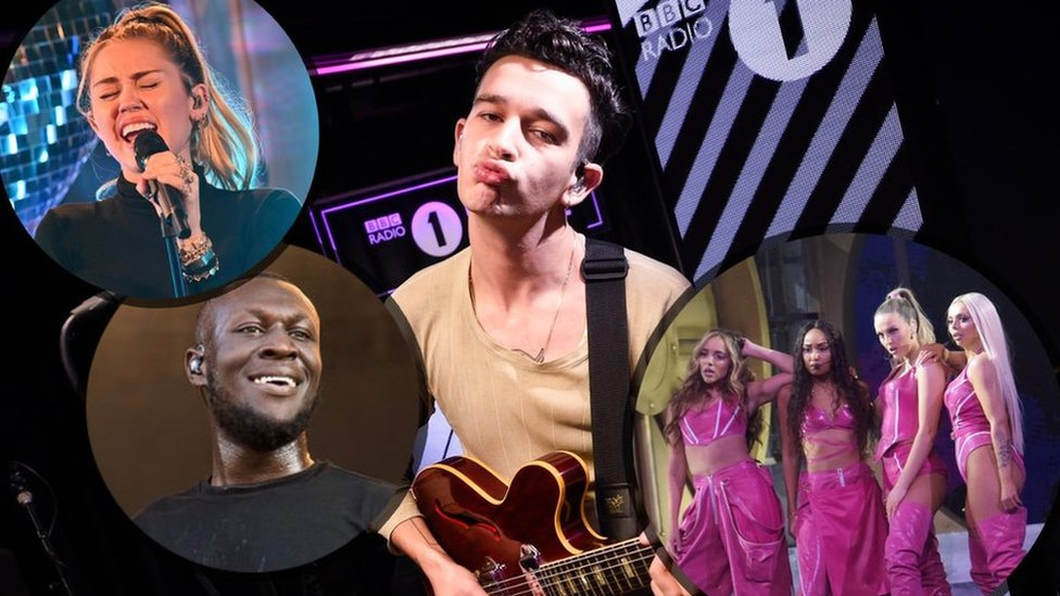 BBC News - Radio 1 Big Weekend: Stormzy joins Little Mix, The 1975 and Miley Cyrus