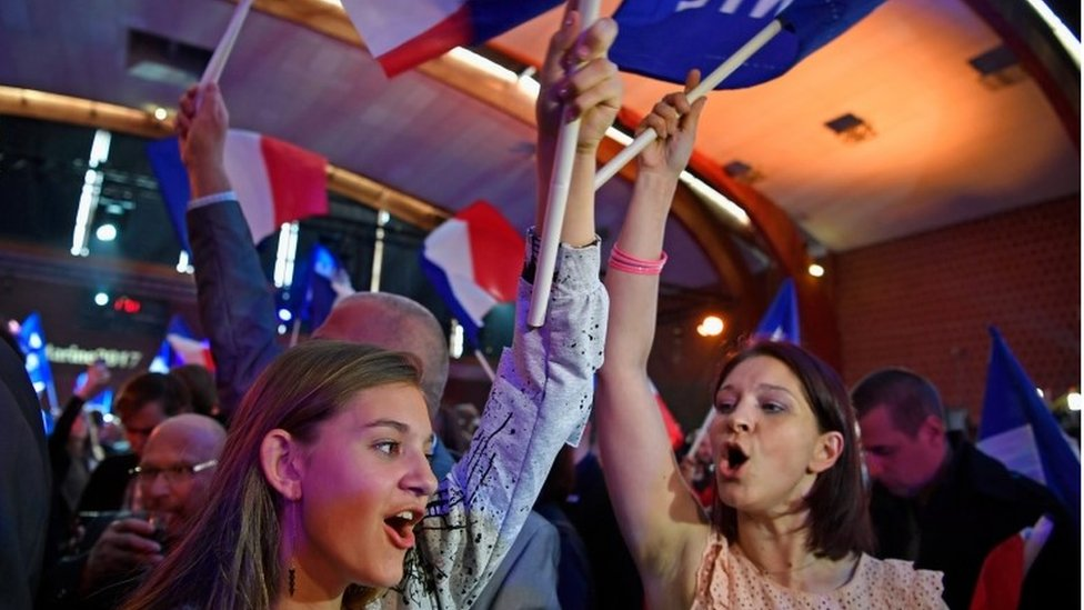 French elections: Markets sense relief after French vote