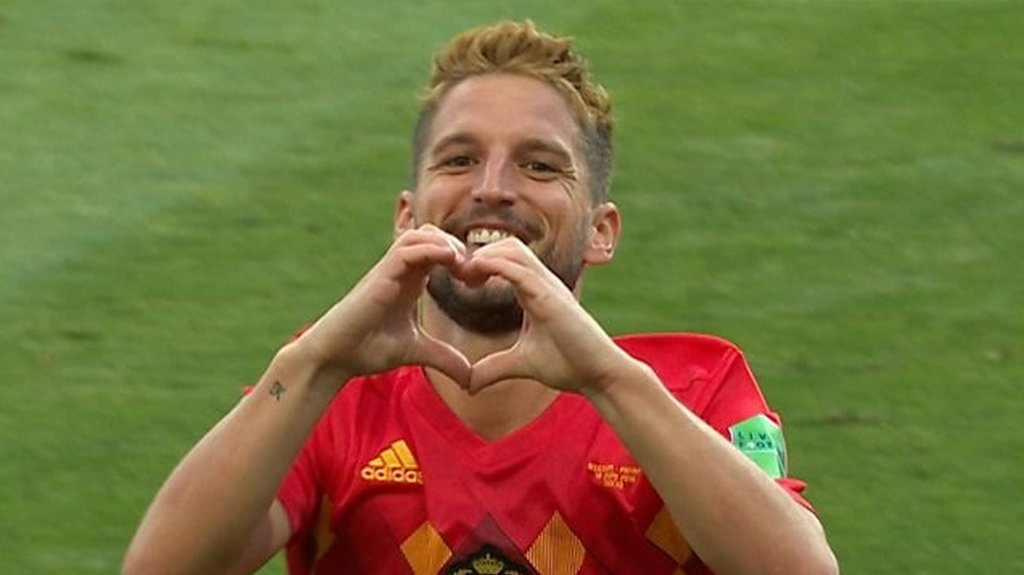 World Cup 2018: Dries Mertens volley gives Belgium lead against Panama