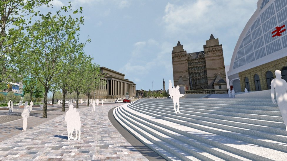 Liverpool Lime Street revamp revealed in new images