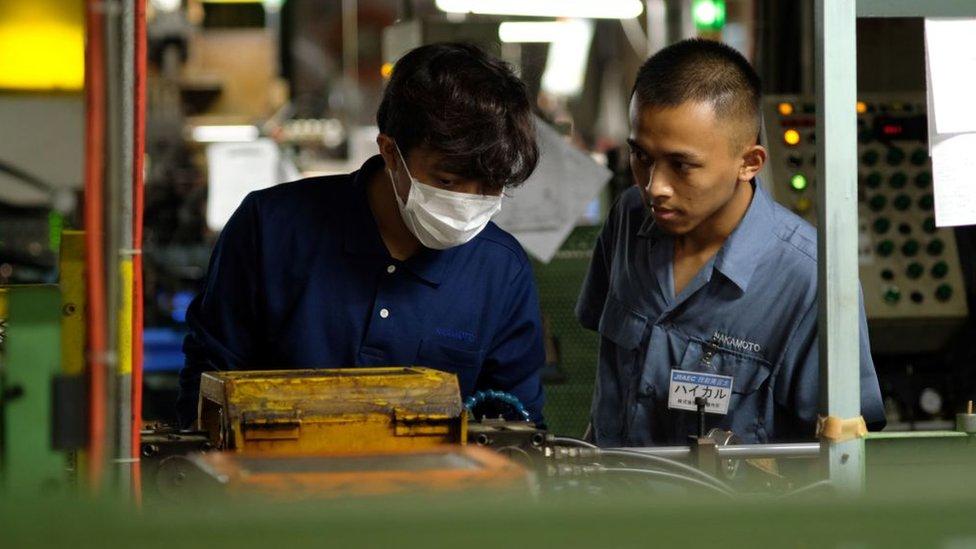 Trabajador indonesio