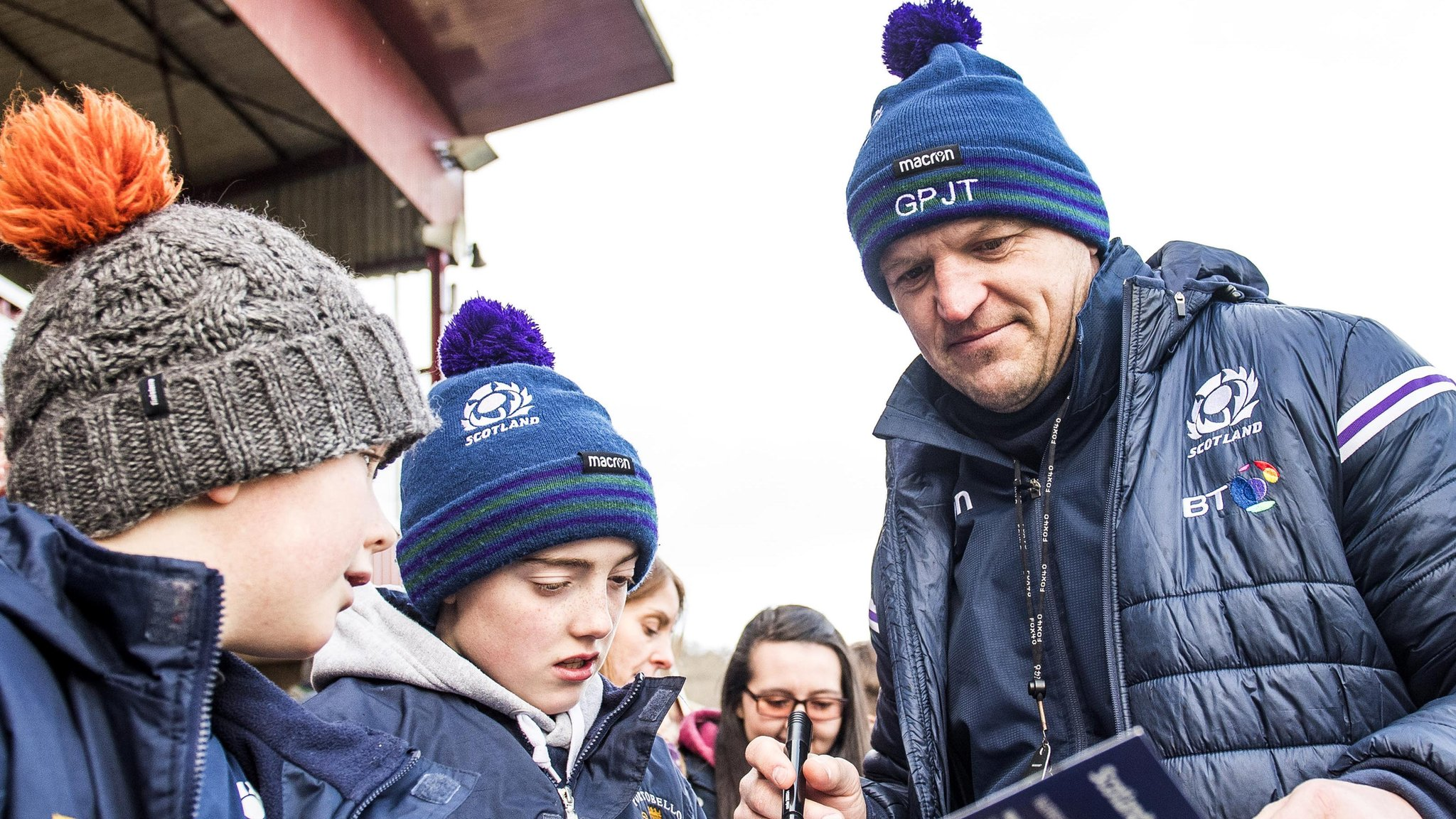 Gregor Townsend: Scotland squad chosen with Rugby World Cup in mind