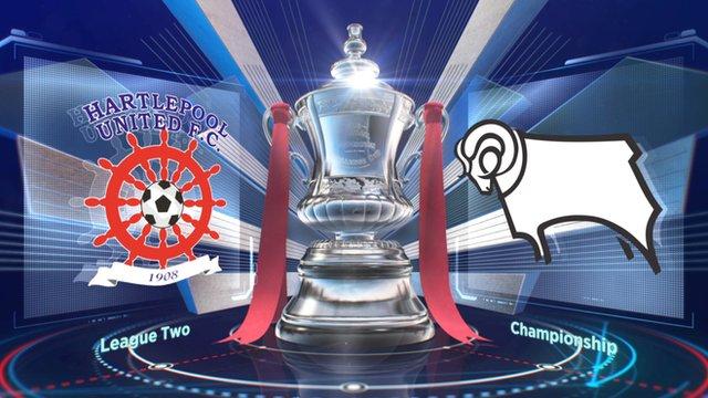 Hartlepool 1-2 Derby highlights