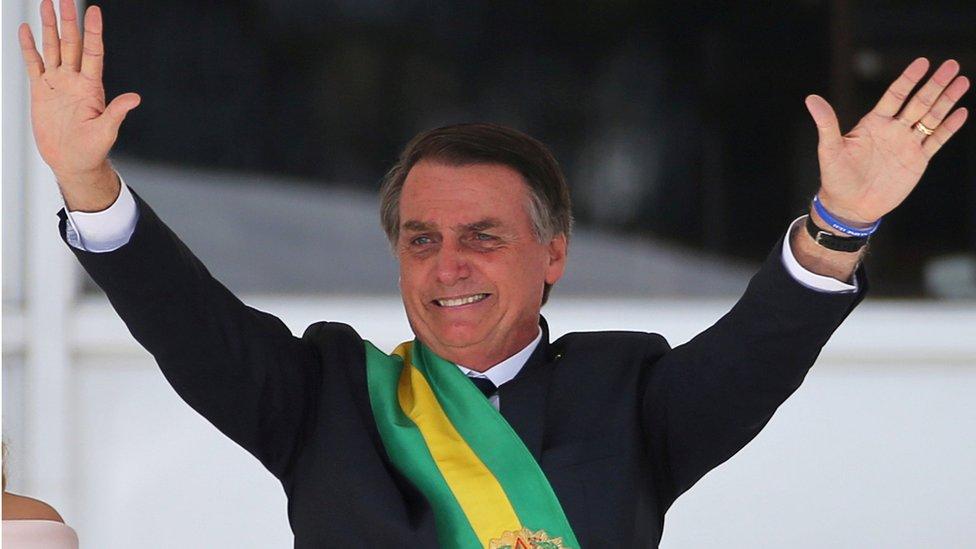 Jair Bolsonaro es considerado por muchos una figura divisoria.