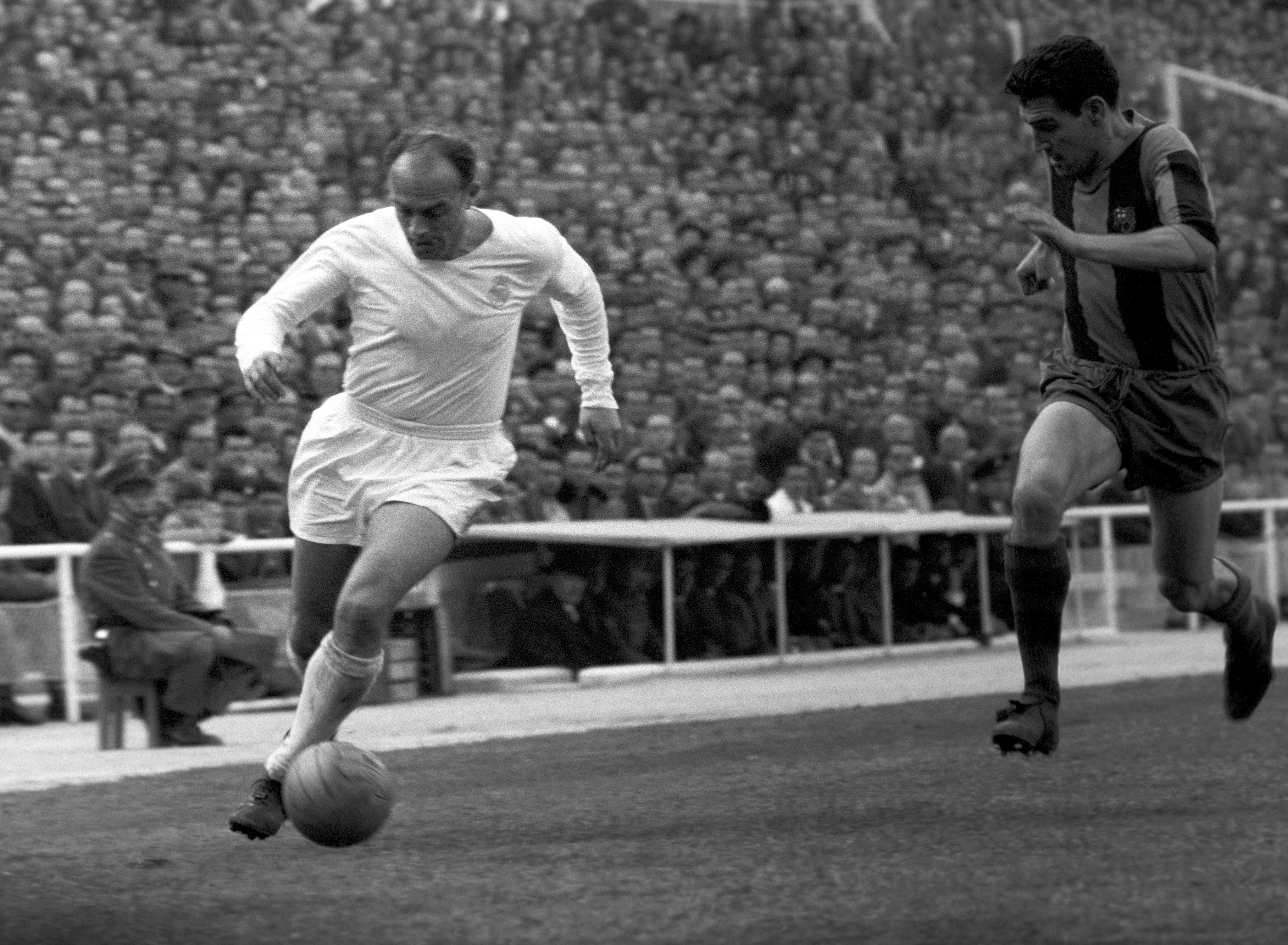 Alfredo Di Stefano fue figura del Real Madrid.