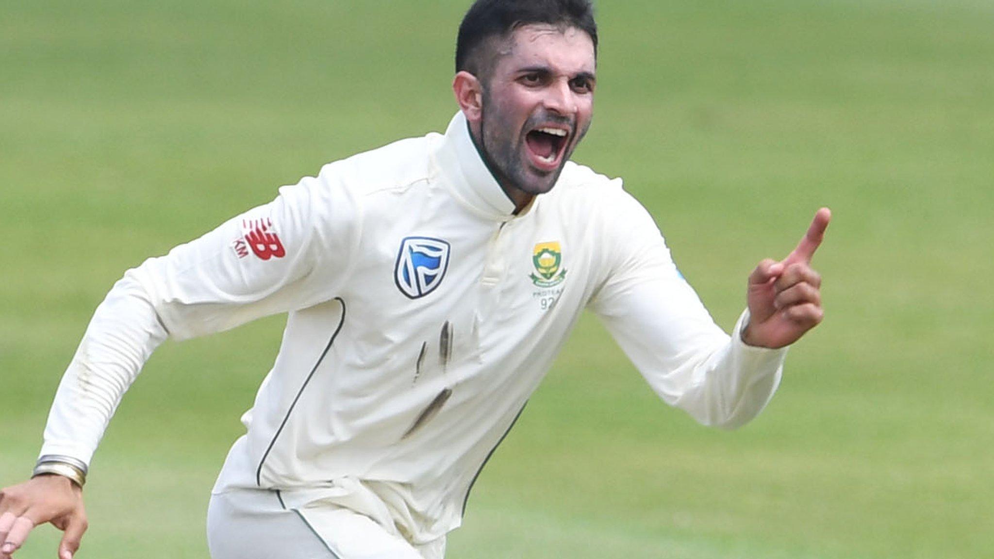 Keshav Maharaj: Yorkshire sign South Africa spinner for three games