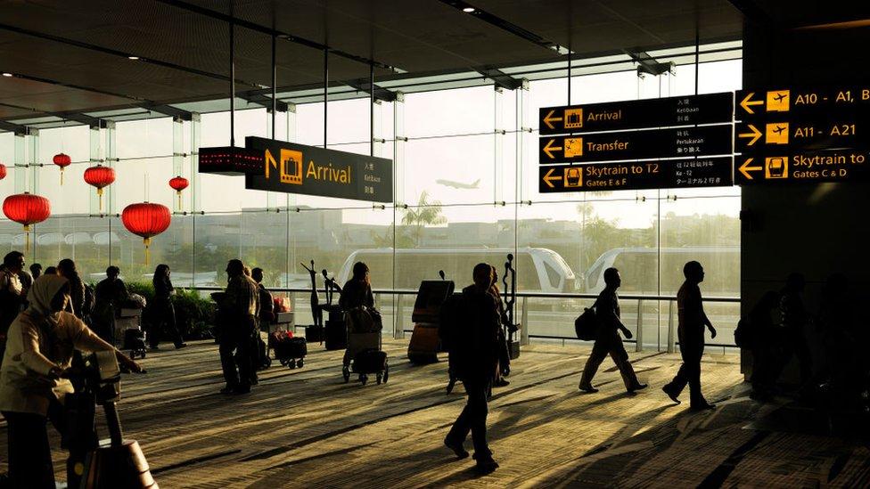 Aeropuerto de Heathrow, Inglaterra.