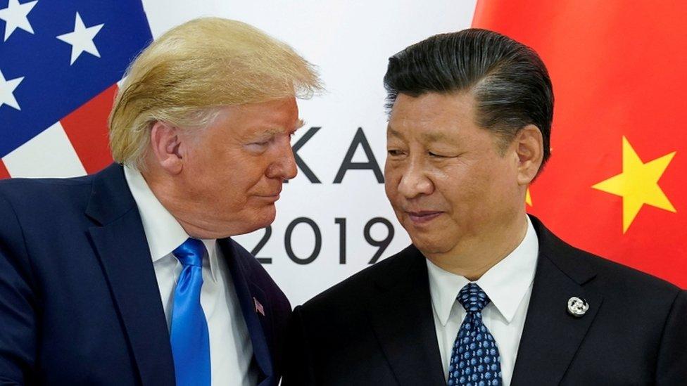 चीन के हड्डी-पसली तोड़ने वाली चेतावनी के बाद अमरीका का एक और दांव
