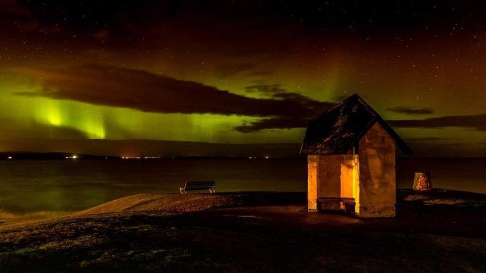 Aurora borealis, Nairn
