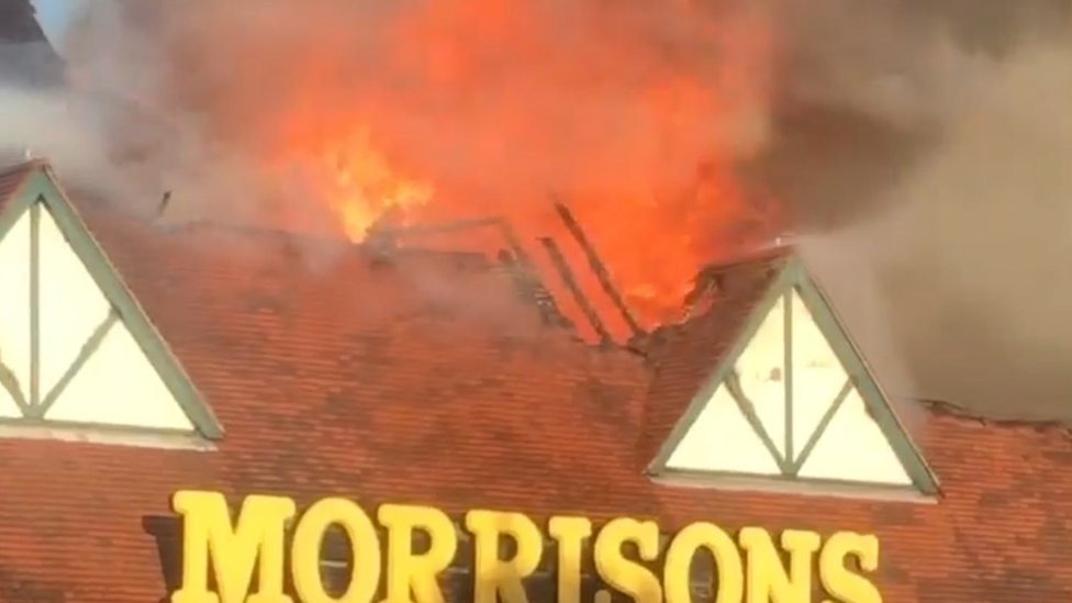 Temporary Folkestone Morrisons to be built by Christmas