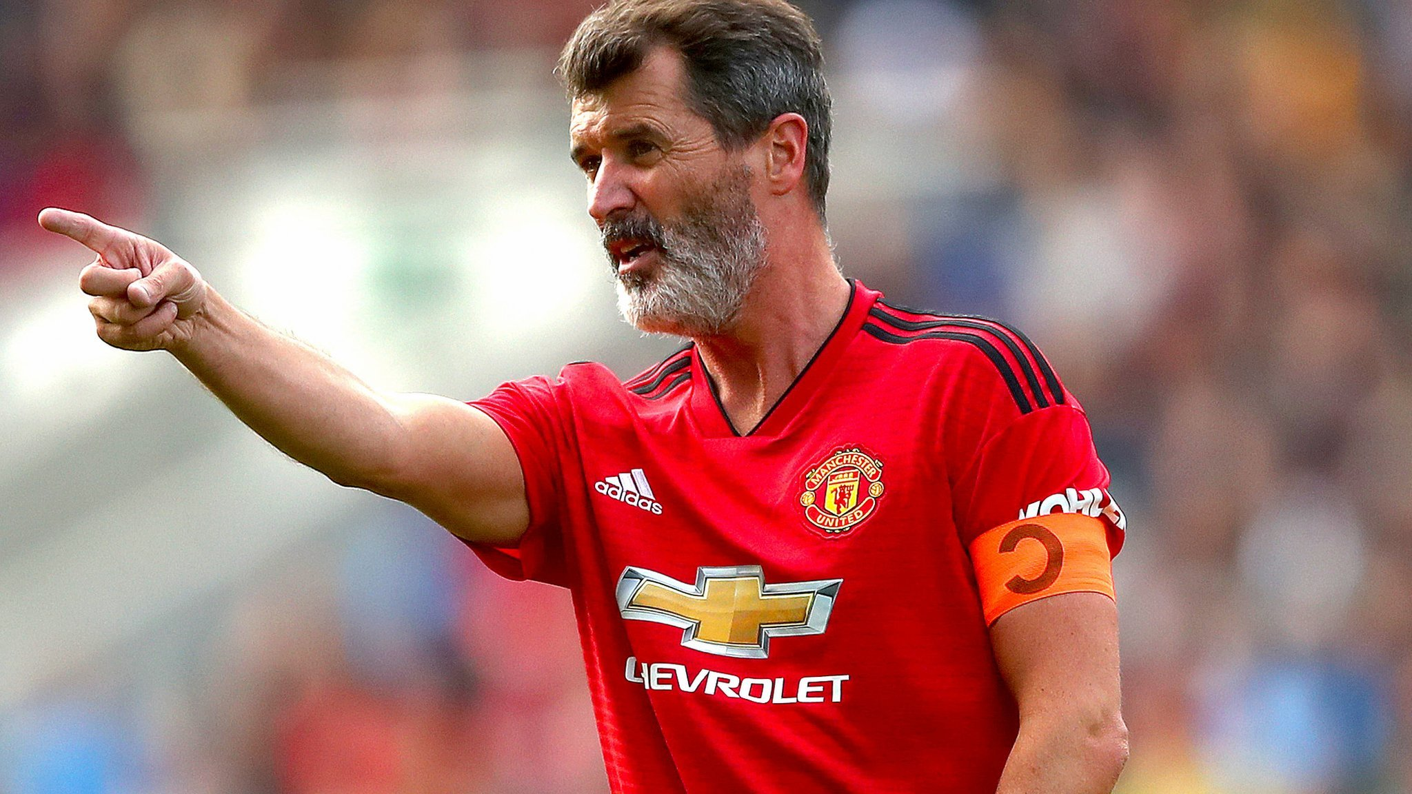Keane leads Man Utd to win in Liam Miller tribute game