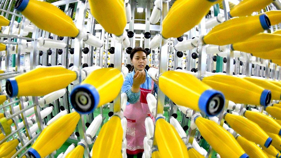 中國紡織工人