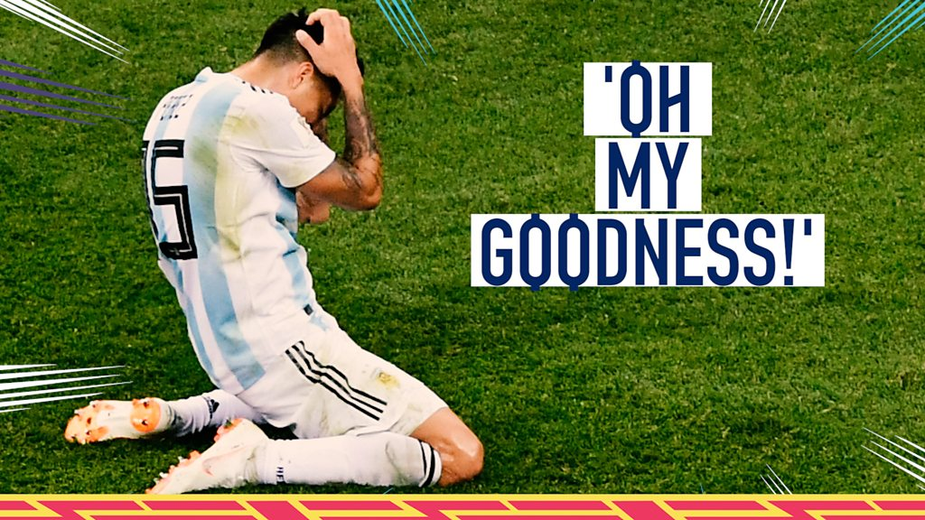 World Cup 2018: Two great chances spurned - but which is worse?