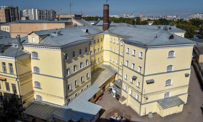 Zgrade u obliku slova K u moskovskom zatvoru Lefortovo
