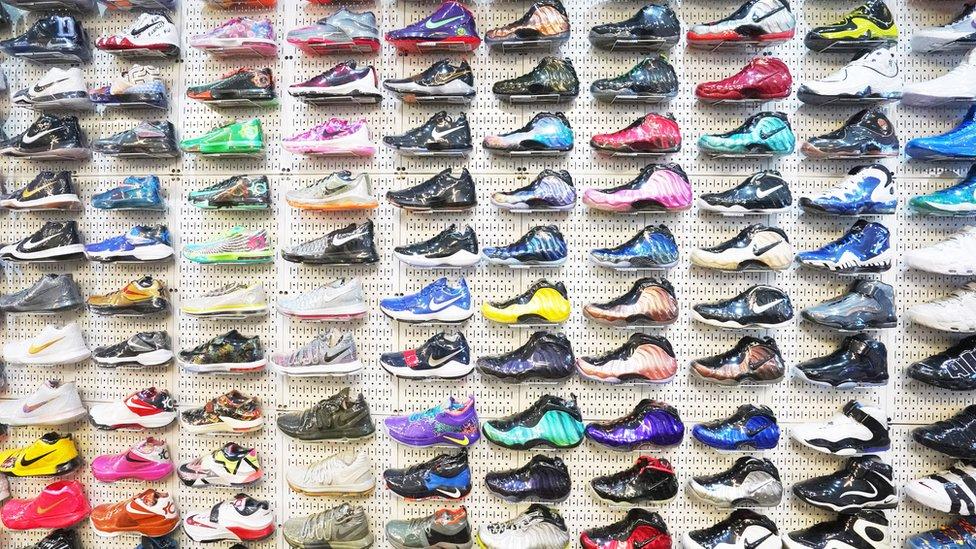 Prodavnica sportskih patika u Njujorku