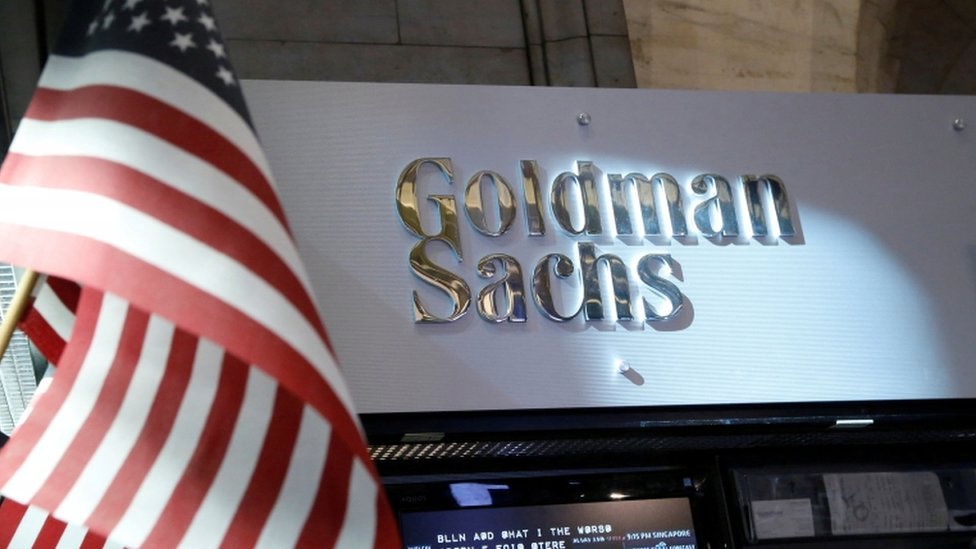 Oficina de Goldman Sachs.