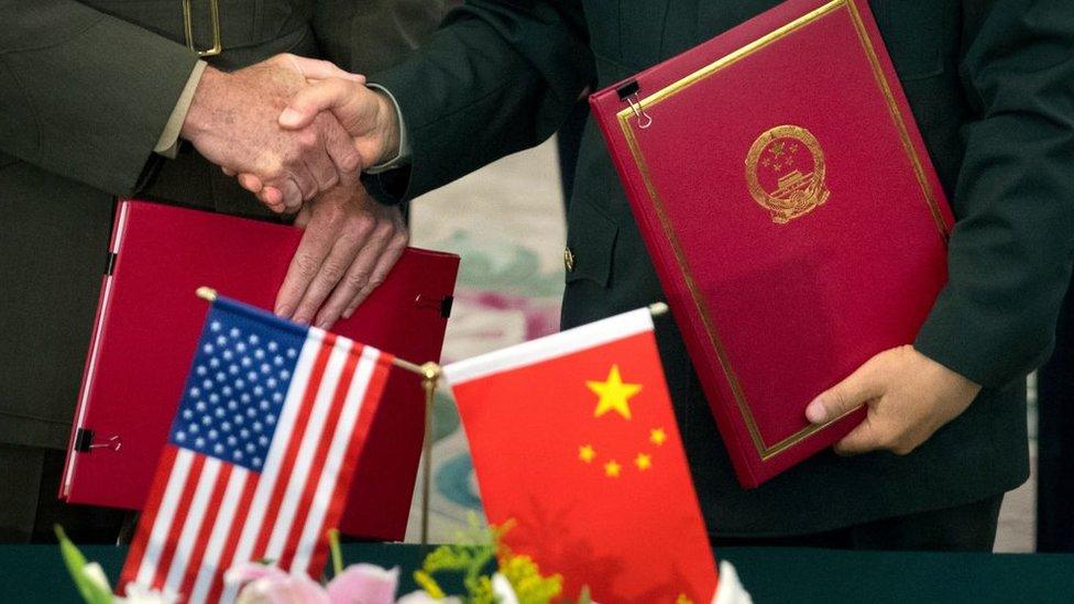 Acuerdo entre EEUU y China , marzo 2019