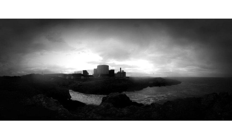 Mae safle'r Wylfa yn mesur 20.8 hectar yn ei gyfanrwydd // The Wylfa site encompasses 20.8 hectares