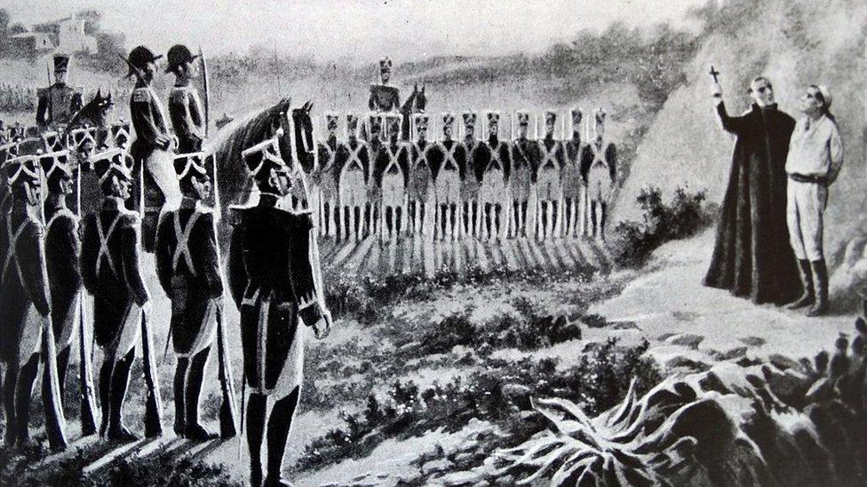 Fusilamiento de Miguel Hidalgo