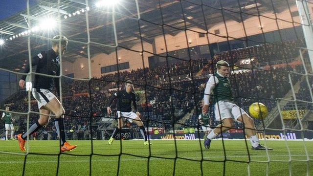 Highlights - Falkirk 1-1 Hibernian