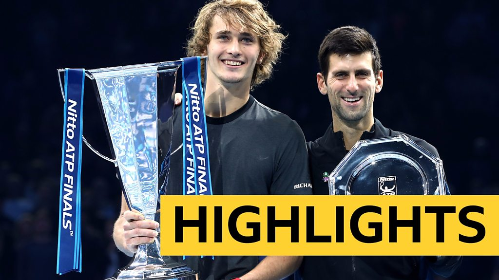 Highlights: Dominant Alexander Zverev beats Novak Djokovic to win ATP Finals in London