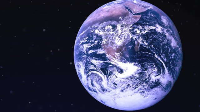 Planet Earth as seen from space