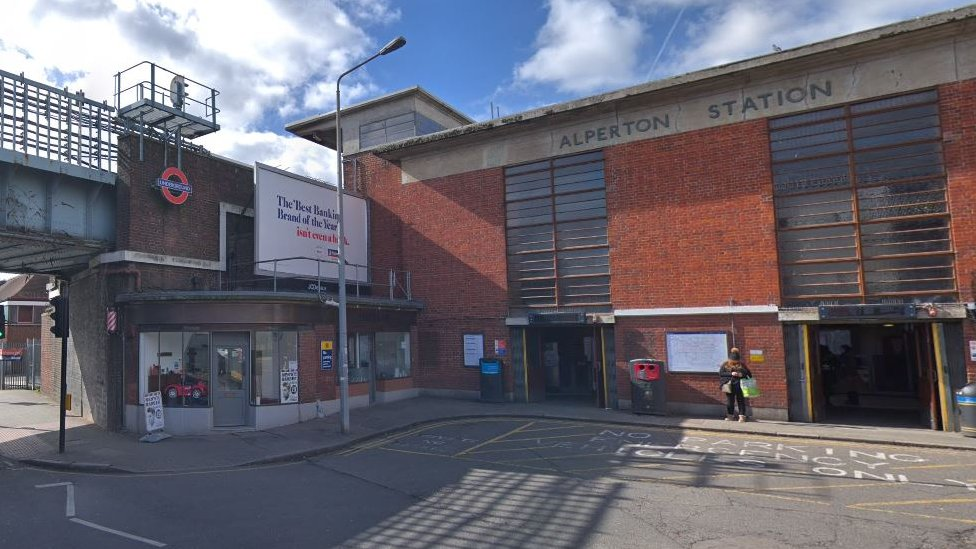 Alperton Tube station death: Man charged with murder