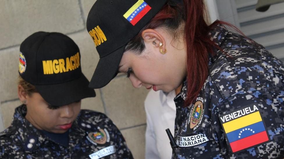 Funcionarias de la Policía Nacional Bolivariana buscaron la protección del gobierno de Colombia.
