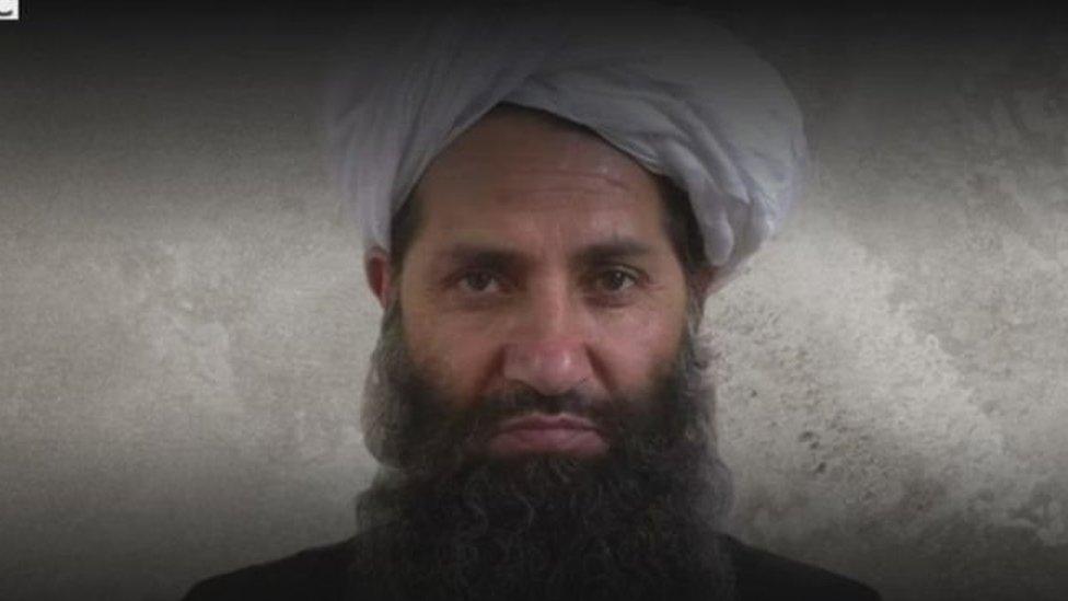 المولوي هيبة الله أخوند زاده زعيم حركة طالبان