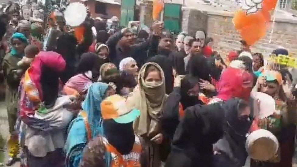 'पाकिस्तान में मोदी और बीजेपी के लिए नारे' लगने का सच