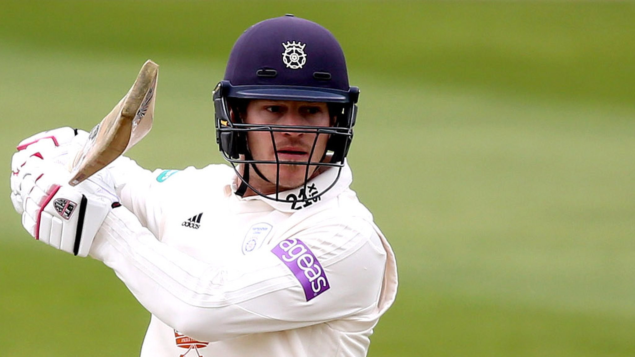 County Championship: Jimmy Adams scores century as Hampshire hit back against Yorkshire